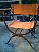 Roman campaign chair.